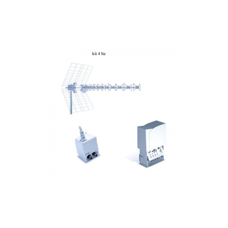 Kit Antenna Fracarro LTE 217924 BLU10HD + MAP541LTE + MINI POWER 12P prezzi costi online