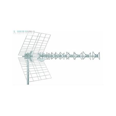 Antenna Blu 5Hd LTE Fracarro 217910 Uhf Tv/Sat