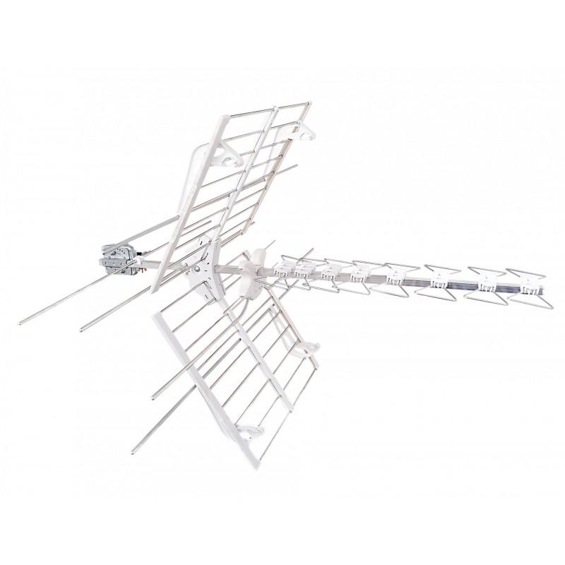 Antenna Blu Combo Lte Tv e Sat 8 Elementi Uhf Lte Vhf Connettore F Fracarro 217911 prezzi costi
