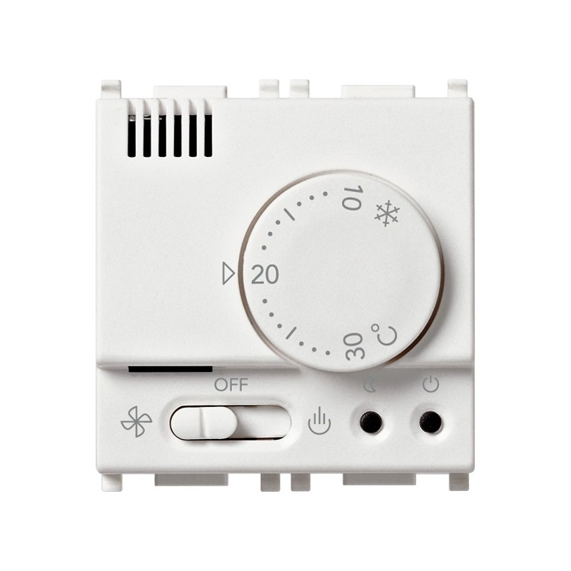 Termostato Elettronico Ambiente per Caldaia Vimar 230V Bianco