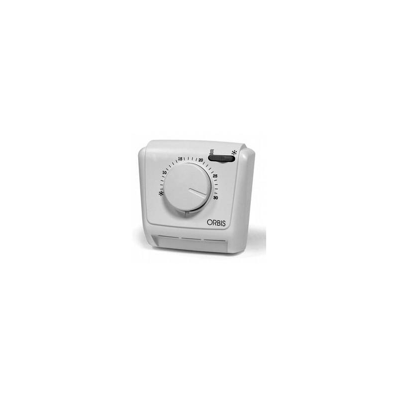 Termostato Ambiente Analogico Meccanico Orbis 230V Estate/Inverno OB320622