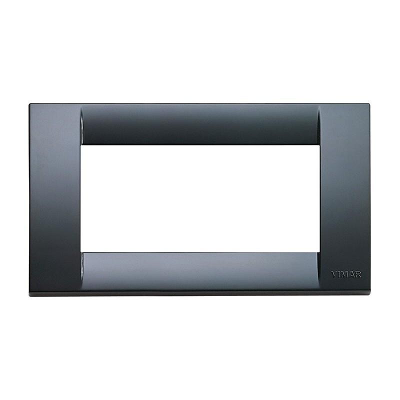 Placca Classica Vimar Idea 16744.15 4 Moduli Grigio Grafite Tecnopolimero prezzi costi