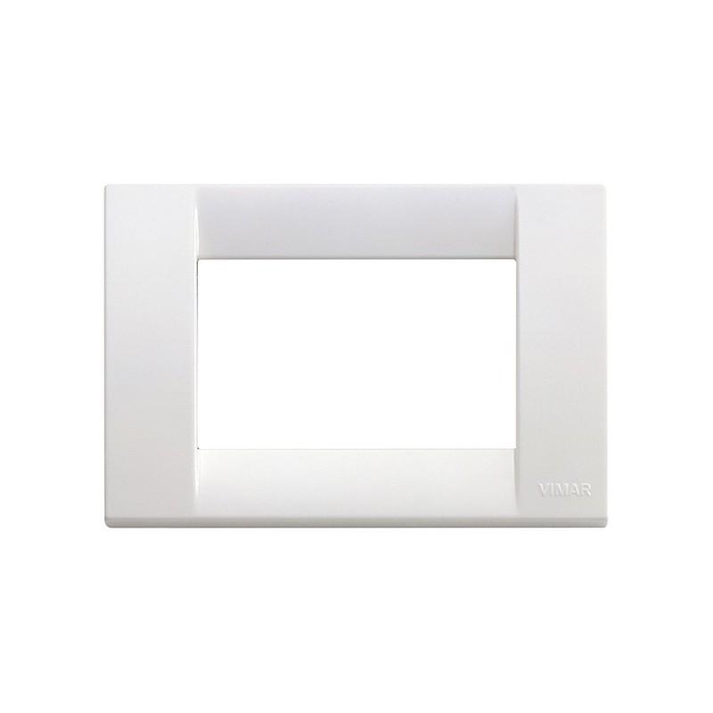 Placca Vimar Idea 16743.01 Classica 3 Posti Bianco Brillante Tecnopolimero costi costo prezzi