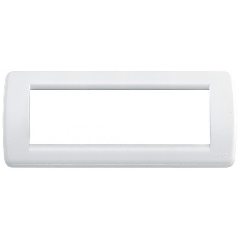 Placca Vimar Idea 16766.01 Rondò Bianco Brillante 6 Posti Tecnopolimero prezzi costi