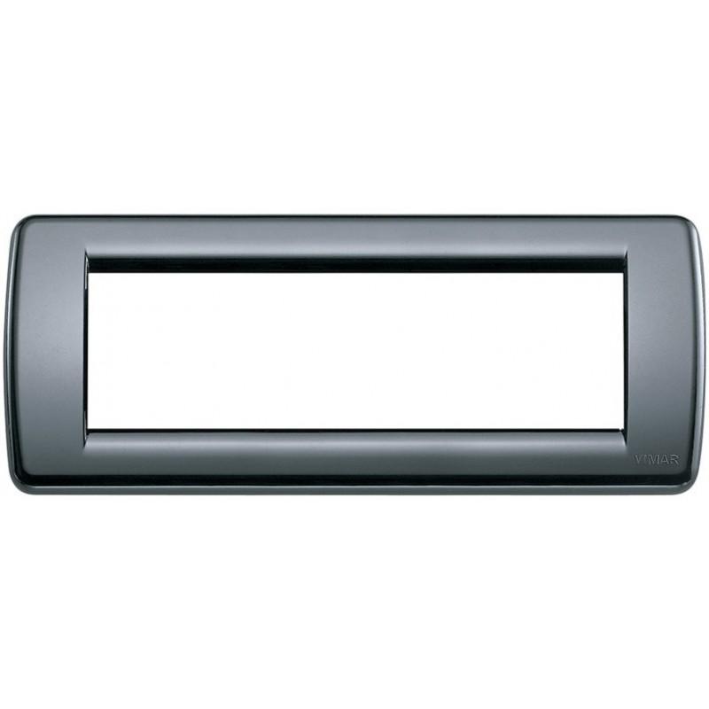 Placca Vimar Idea 16766.15 Rondò 6 Posti Grigio Grafite Tecnopolimero prezzi costi costo