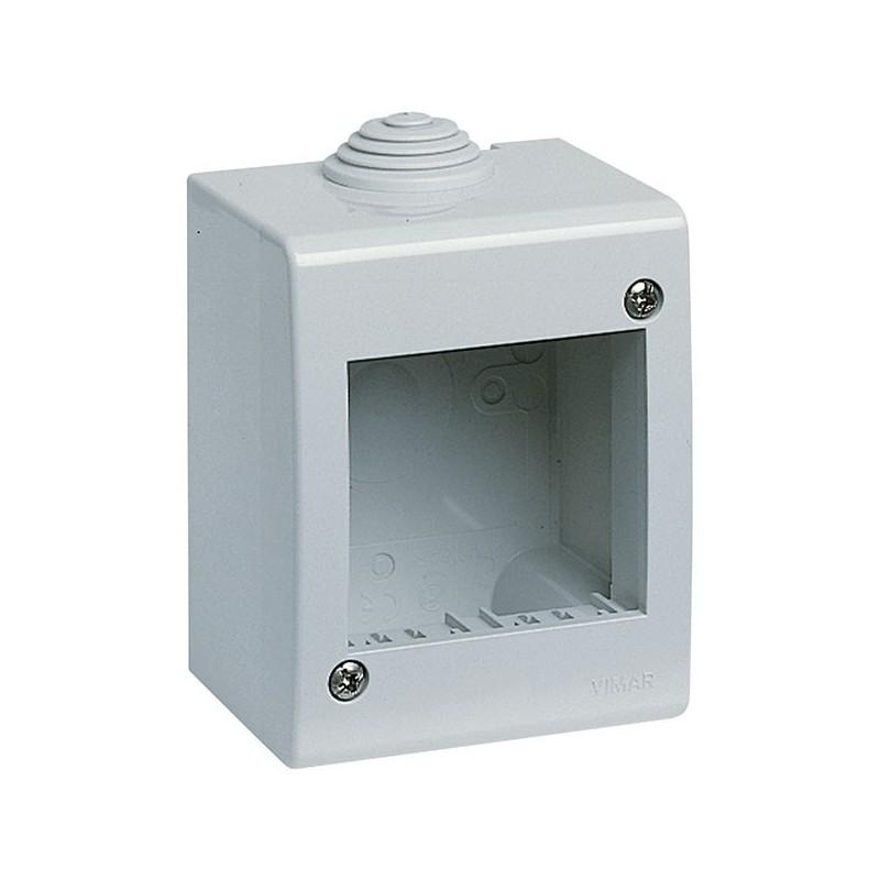 Contenitore IP40 2 Moduli Vimar 13023 Idea e 8000sp Grigio
