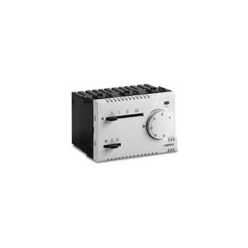 Termostato Universale Meccanico da Incasso Perry Electric 230V Bianco
