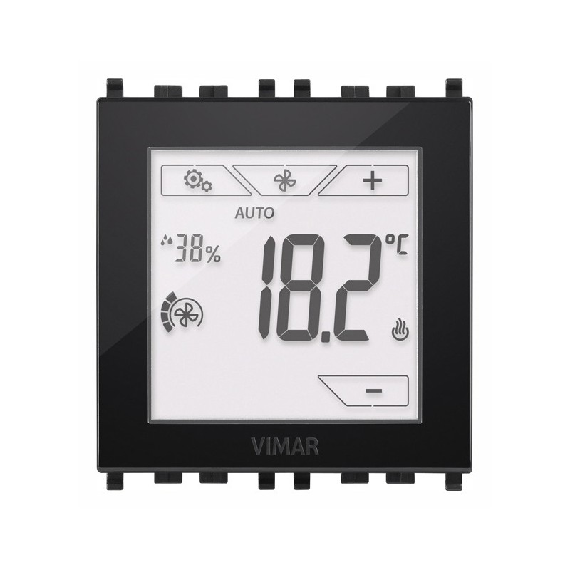 Termostato Digitale Touch Screen ad Incasso Vimar 02951 - 02951.B