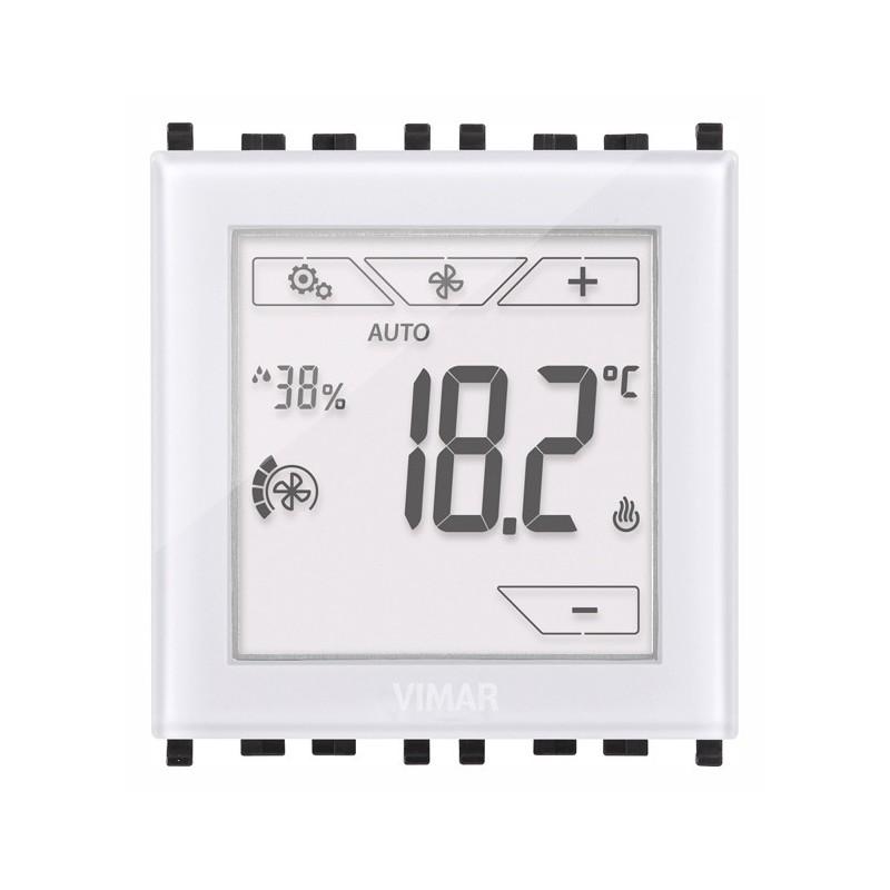 Termostato Digitale Touch Screen ad Incasso Vimar 02951 - 02951.B