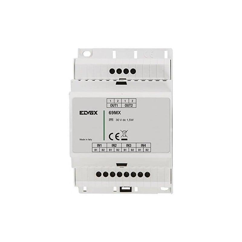 Elvox 69MX - Concentratore 4 Targhe Parallelo prezzi costo costi