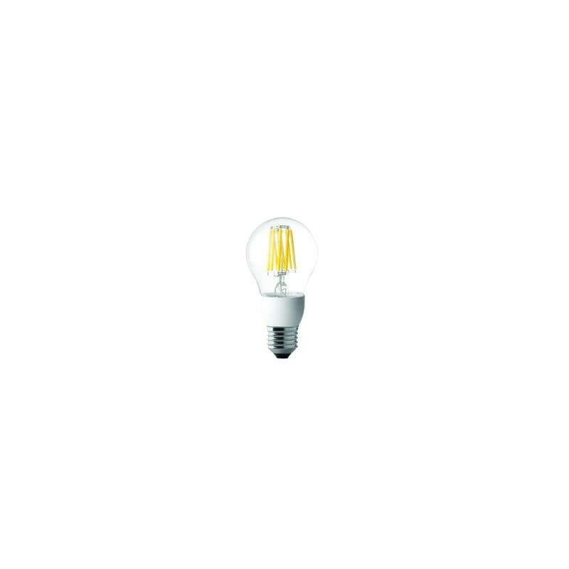 Lampadina led wiva wireled goccia dimmerabile e27 3000k 8w for Lampadine al led luce calda