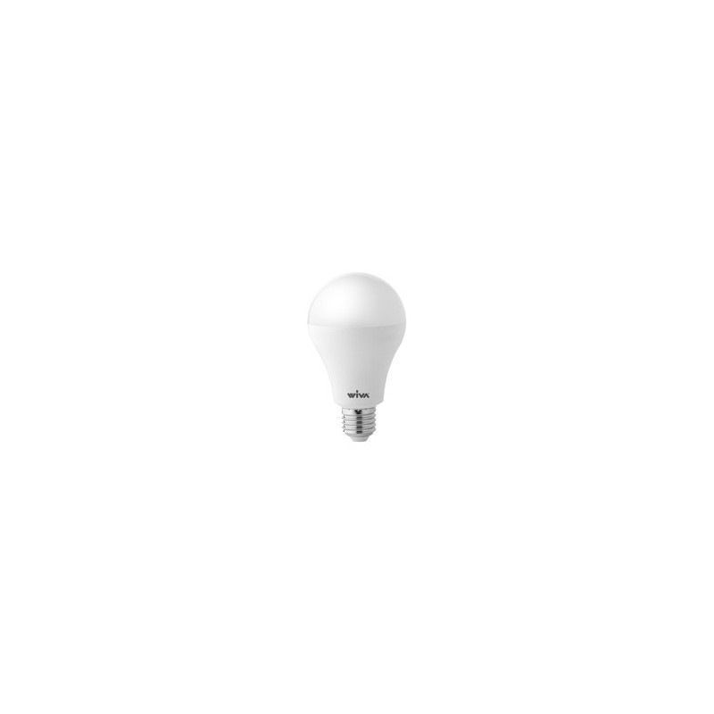 Lampadina Led Wiva 12100280 Led Basic GLS Goccia Opale E27 3000K 20W Luce Calda
