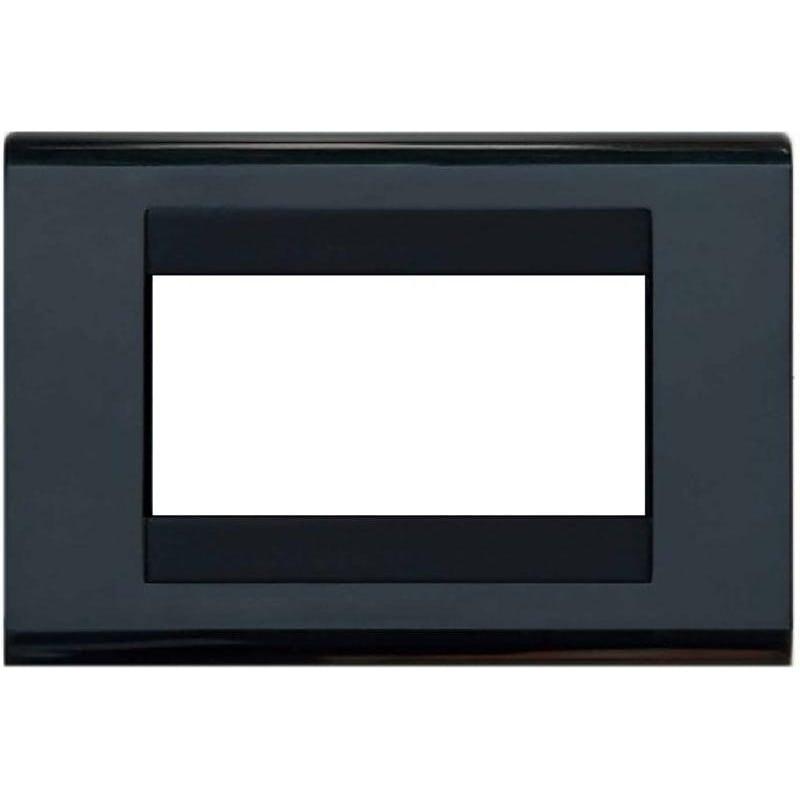 Placca Compatibile con Bticino Living Classic Avorio 3 4 Posti Tecnopolimero