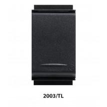 Deviatore Unipolare Assiale Feb TL Tasti Larghi 10 AX 250 V