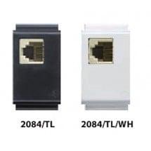Presa Telefonica RJ11Plug 6/4 Feb TL Tasti Larghi - Compatibile Bticino Living Classic