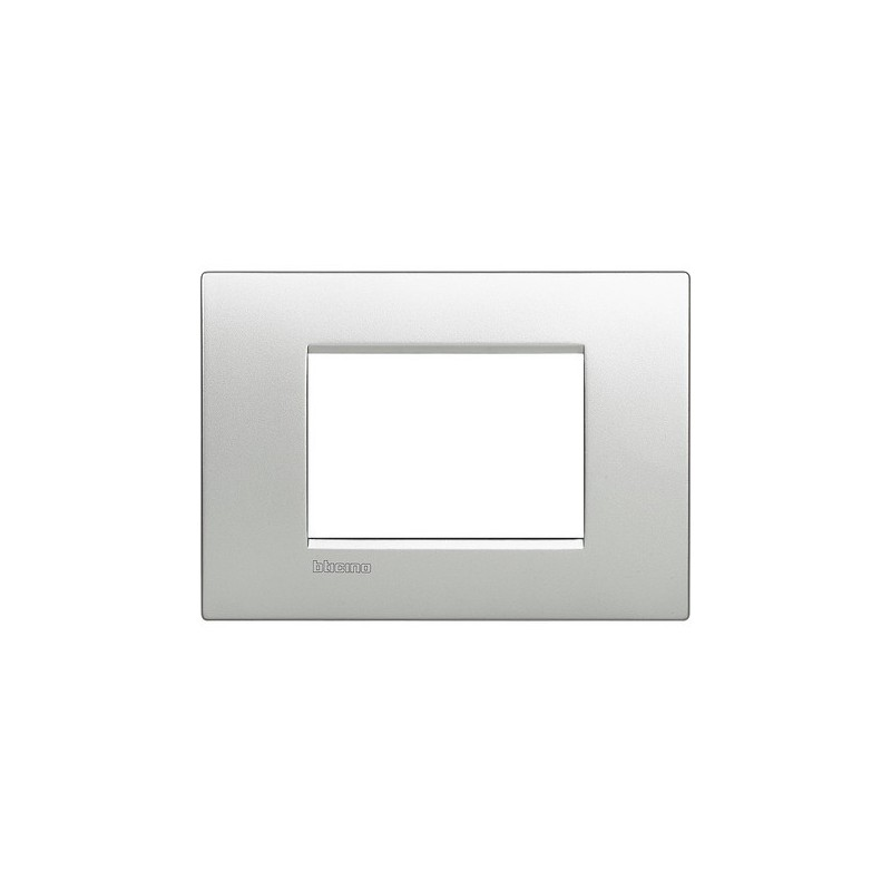 Placca bticino living light air lnc4803te 3 posti tech in - Interruttori living light ...