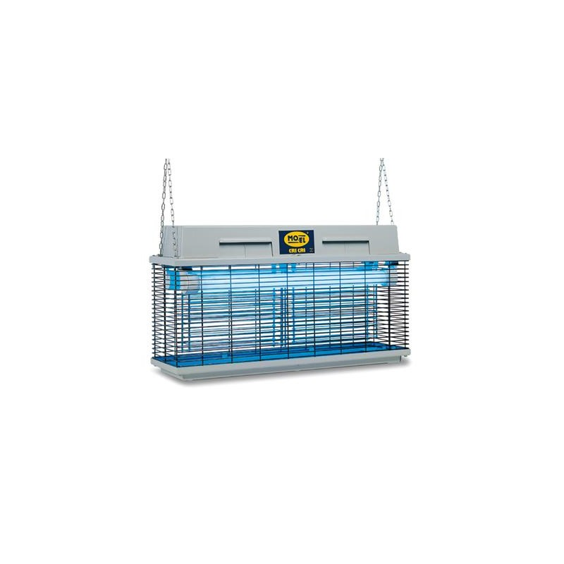 Elettroinsetticida Moel Lampada Cattura Insetti Cri Cri 80W 230V