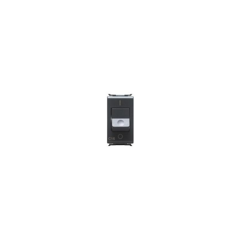 Interruttore Magnetotermico Automatico 1P+N 16A 3KA 230V Curva C Gewiss Playbus 30376 prezzi costi costo