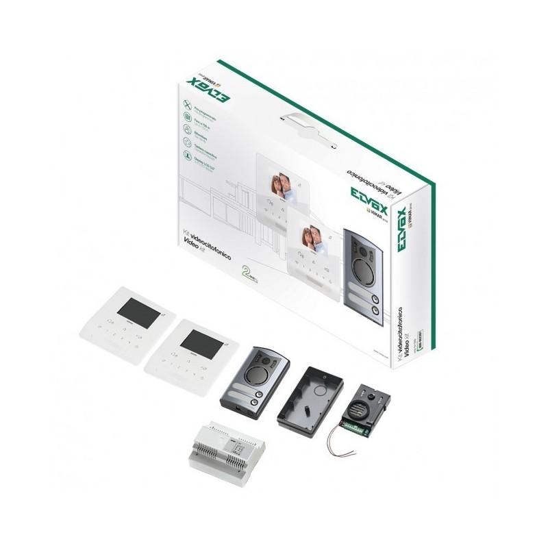 Kit Videocitof. 2F+ Bif. Tab Free+1 Vimar