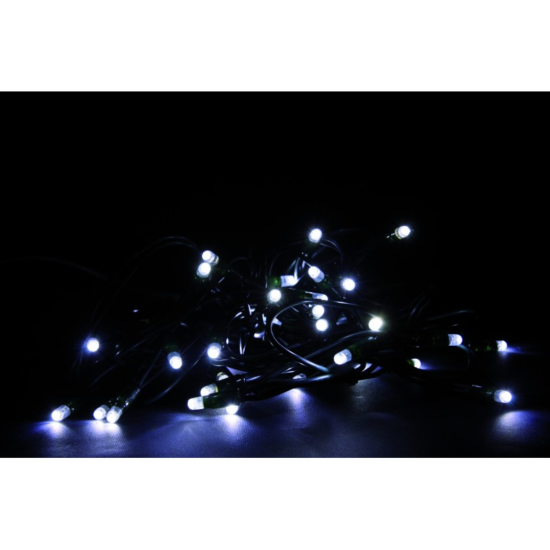 Luci di Natale Giocoplast a Led Bianchi Catena Luminosa 40 Led 4 metri