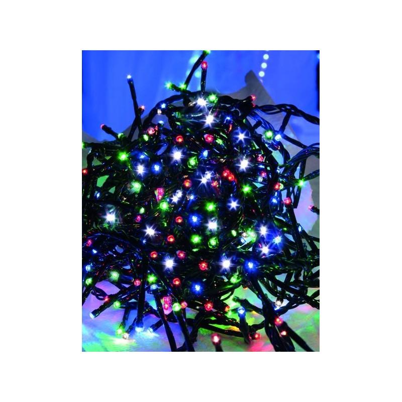Luci di Natale da Esterno Giocoplast a Led Multicolore Catena Luminosa 300 Led 10 metri Giochi di Luce