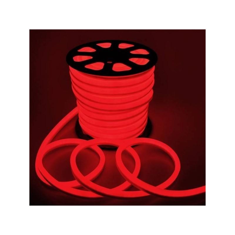 Striscia Neon Led Rosso Bifacciale Giocoplast 5 metri 120W