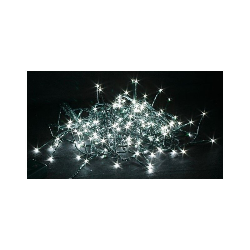 Luci di natale giocoplast a led bianchi catena luminosa - Catena di luci per esterno ...