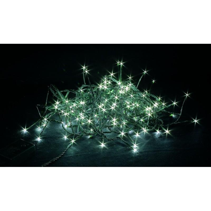 Luci di Natale Giocoplast a Led Bianco Catena Luminosa 192 Led 8 metri Giochi di Luce