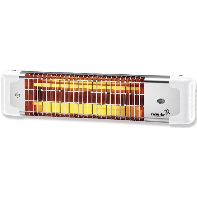 Stufa ad infrarossi da parete plain air reglette con cordicella di accensione - Stufa elettrica ad infrarossi ...