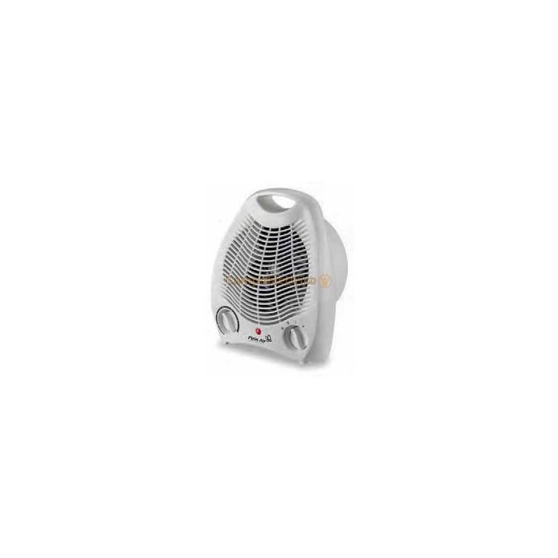 Termoventilatore Mini Portatile Bagno Plein Air con Termostato e Maniglia