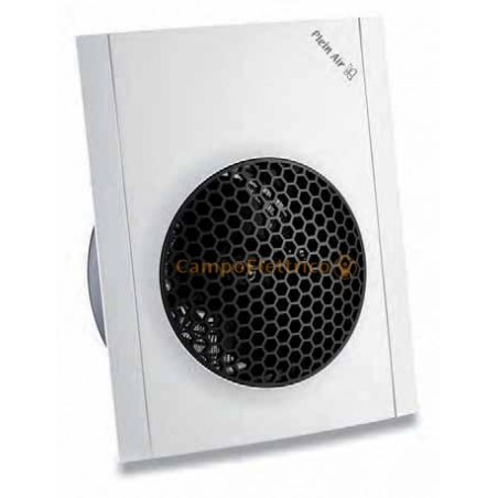 Termoventilatore Bianco Orizzontale Verticale Plein Air Windy con Termostato IP21