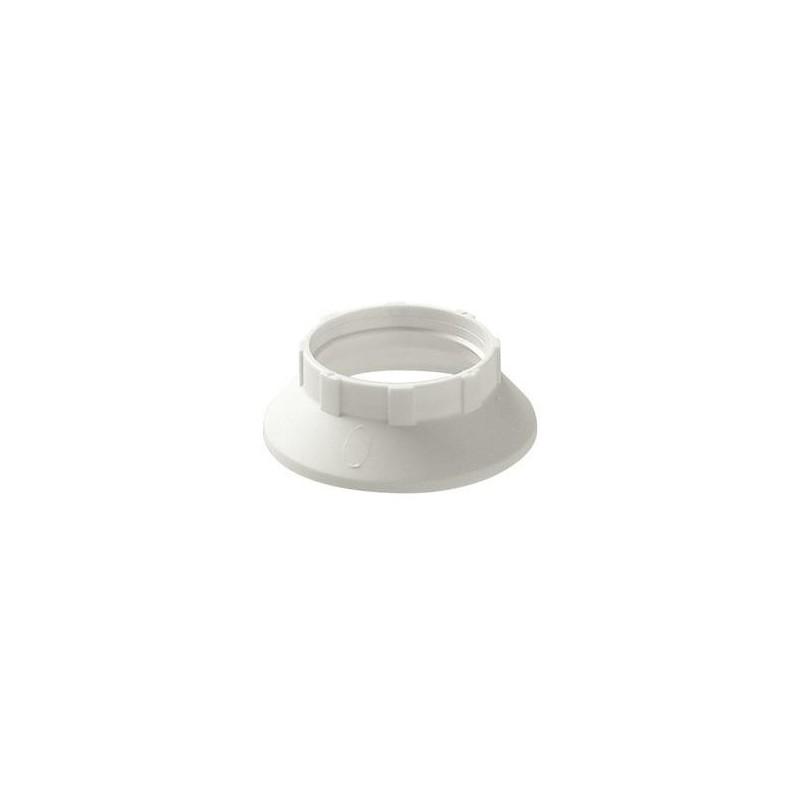 Anello fermaparalume per portalampade E14 con camicia filettata