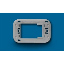 Adattatore Supporto Aertecnica NA687 Bticino Axolute Grigio Metallizato Chiaro Lucido