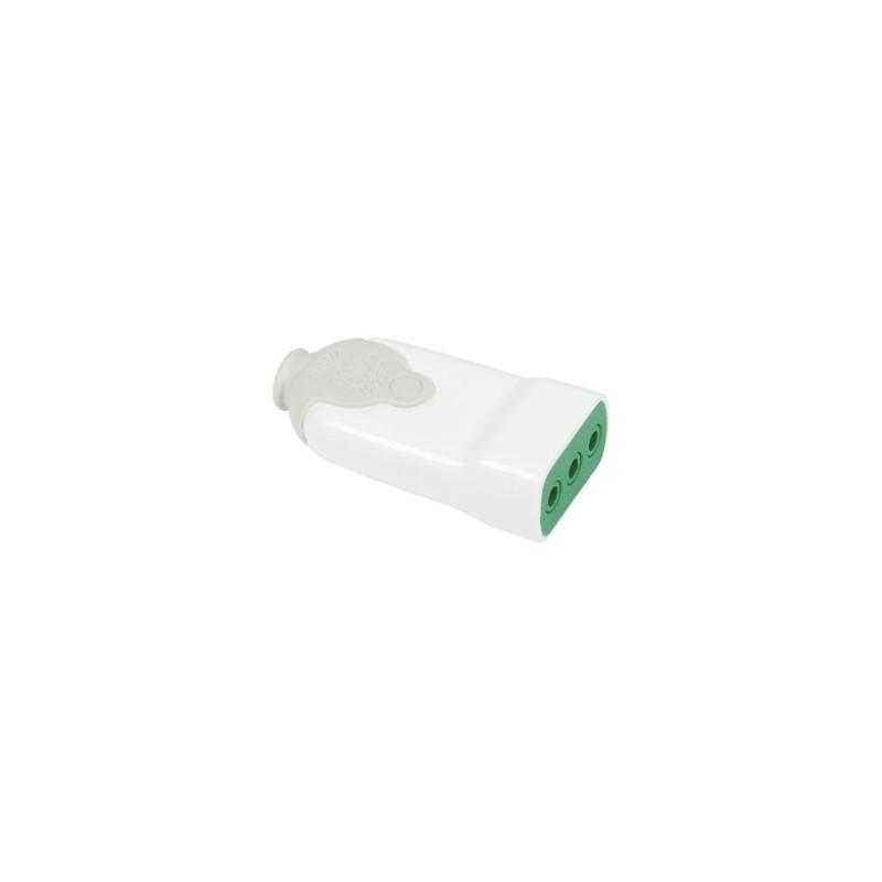 Presa diritta bico 39 italiana 2p t 10a p11 smontabile bianco for Placche prese elettriche