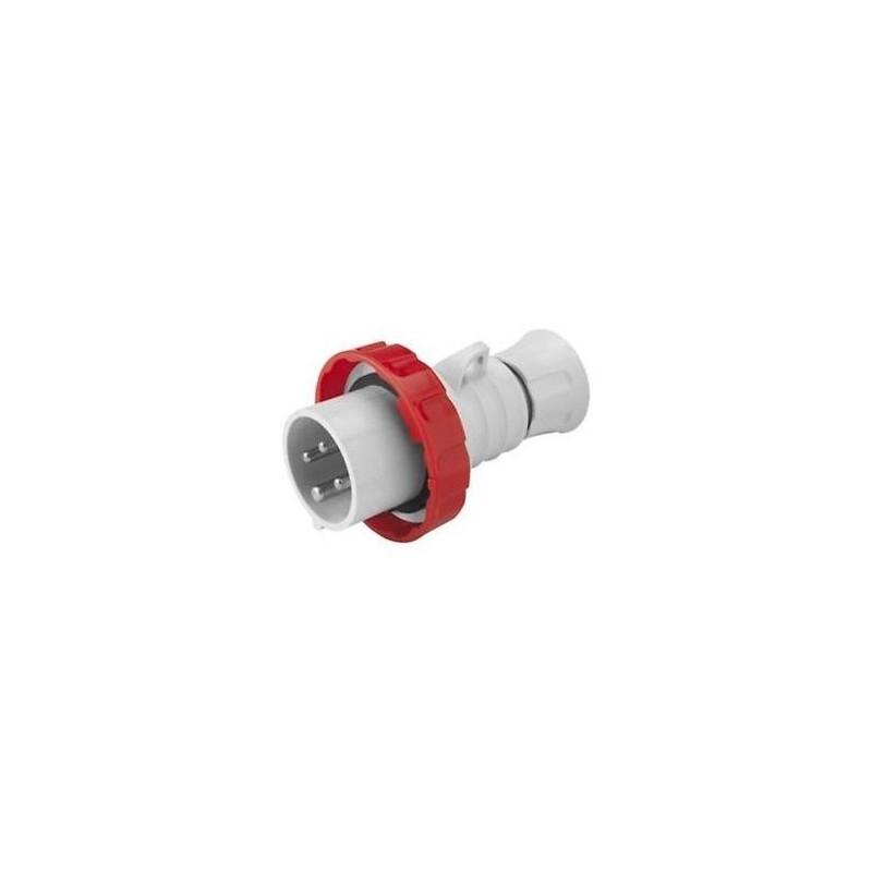 Spina Mobile Diritta Stagna Cablaggio a Vite Bassa Tensione Alta Performance 32A 4 Poli Gewiss GW60041H