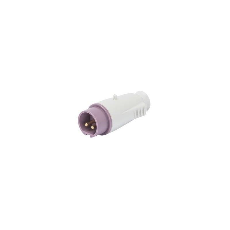 Spina Mobile Diritta Protetta 16A 2 Poli Gewiss GW60064