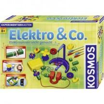 Prodotto In Lingua Tedesca Kit Esperimenti Kosmos Elektro & Co. 620417 Da 8 Anni