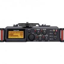 Registratore Audio Tascam Dr-70D Nero/Rosso