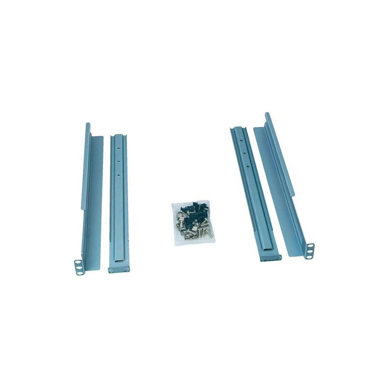 Kit 2 guide universali per Ups DVR-VSD-SDH-SDL montaggio rack da 600 a 1000 mm