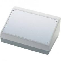 Contenitore da banco 84 x 56 36 plastica alluminio nero argento teko pult