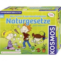 Kit esperimenti Kosmos Mein erster Experimentierkasten - Naturgesetze 602079 da 5 anni