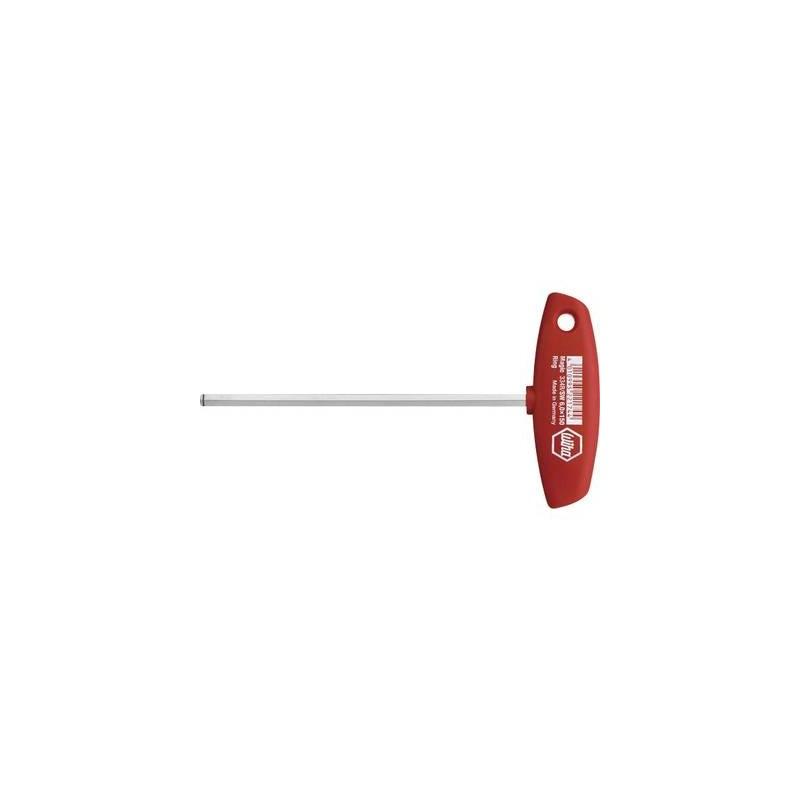 Wiha Classic T-handle 334R Officina e meccanica Cacciavite a esagono interno Dimensione chiave (metrica): 3 mm Lunghezza