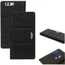 Perlecom Backcover Per Cellulare Adatto Per: Huawei P9 Nero