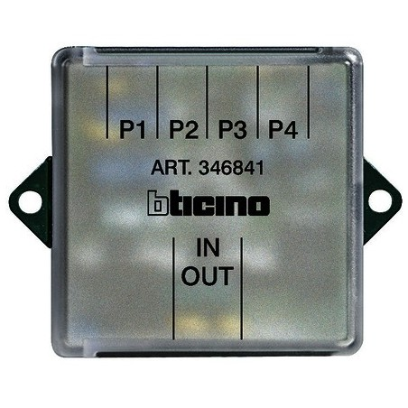 Bticino 346841 - Derivatore Di Piano 2 Fili