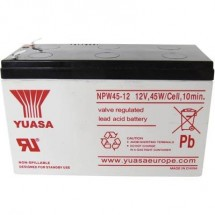 Batteria Al Piombo 12 V 8.5 Ah Yuasa Npw45-12 Np45W/12 Piombo-Agm (L X A X P) 151 X 97.5 X 65 Mm Spina Piatta 6,35 Mm
