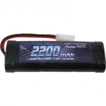 Gens Ace Batteria Ricaricabile Nimh 7.2 V 2200 Mah Numero Di Celle: 6 Stick Tamiya