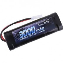 Gens Ace Batteria Ricaricabile Nimh 7.2 V 3000 Mah Numero Di Celle: 6 Stick Tamiya