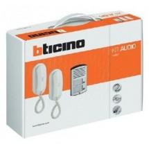 kit videocitofono Bticino, completo di tutti gli oggetti, 2 fili o 5 fili, classe 100 o 300