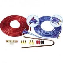 Kit Di Collegamento Amplificatore Hifi Per Auto 16 Mm Sinustec Bcs-1600