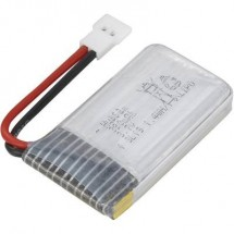 Hubsan Batteria Ricaricabile Lipo 3.7 V 380 Mah Numero Di Celle: 1 Stick Spina Piatta